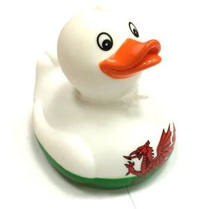 Wales Welsh Flag Novelty Rubber Duck [wx204]