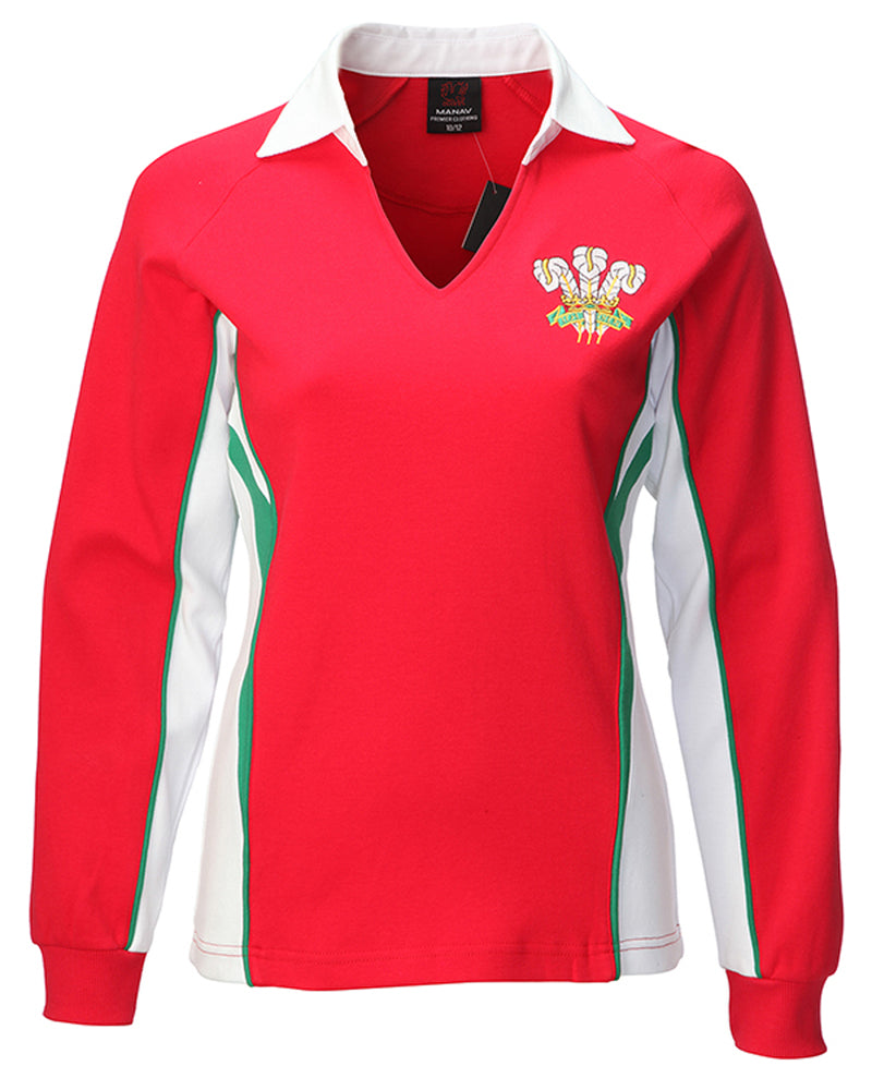 2409f9a05b2 Wales Rugby Shirt Long Sleeve Classic - Cotswold Hire