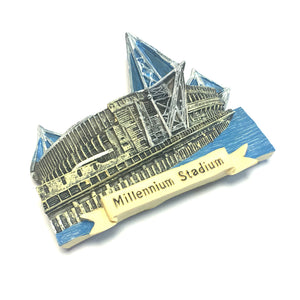 Wales Principality Millennium Stadium Resin Fridge Magnet [wm306]