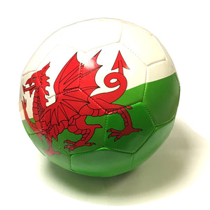 Wales RGW Size 5 Stitched Panel Football [wr81]