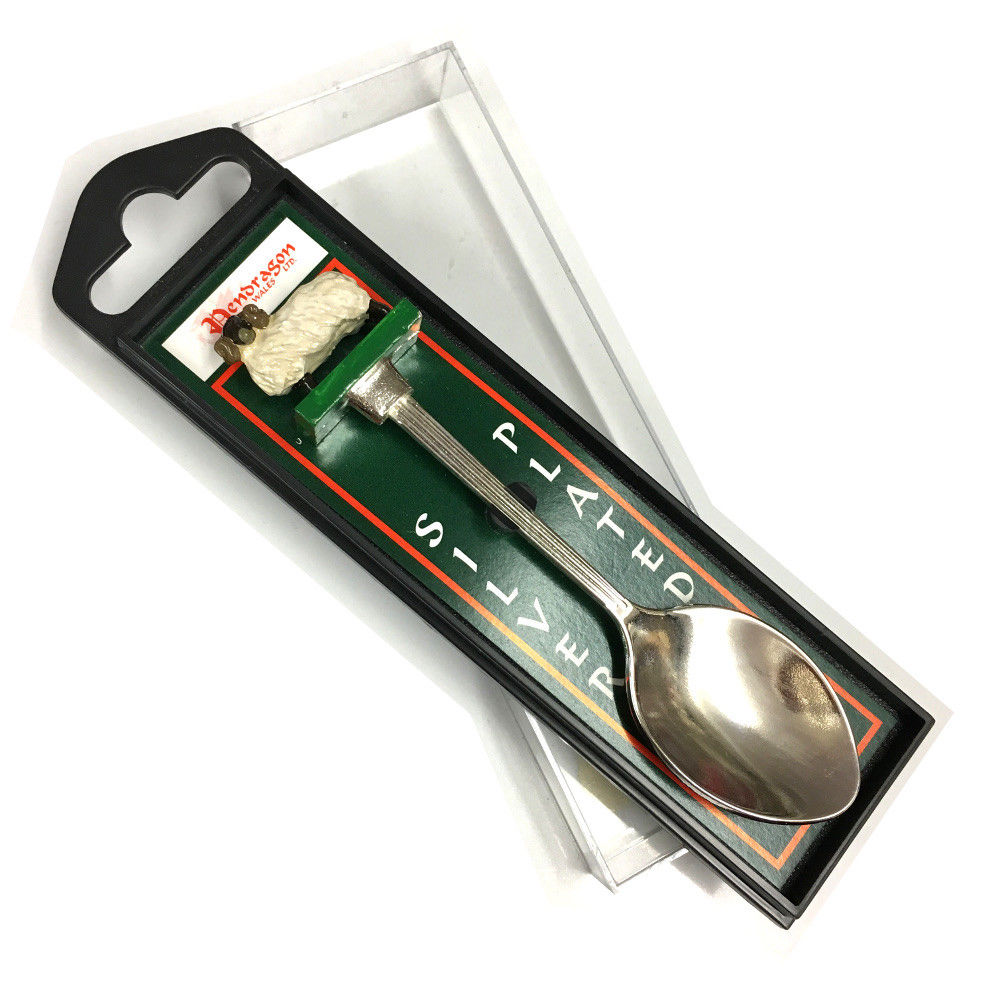 Wales Sheep Hand-Painted Collectable Gift Spoon