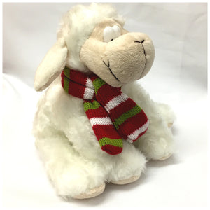 Wales Supporter Sheep with Scarf Soft Toy [wp156]