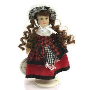 Nia 5inch Welsh Costume Porcelain Doll [wd4]