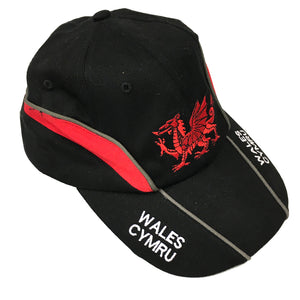 Wales Dragon Streaked Golf Cap [wa146]