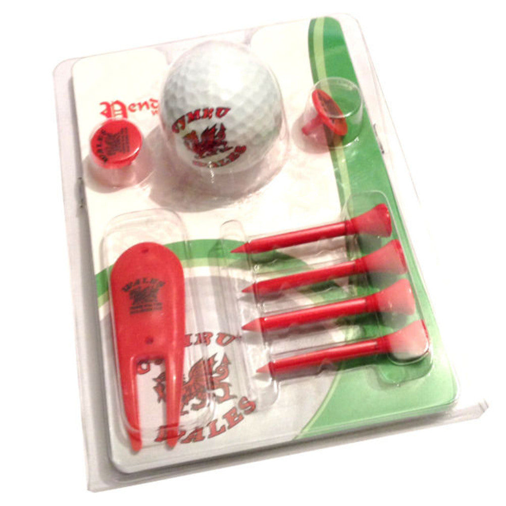 Wales Golf Ball Accessory Set [wr33]