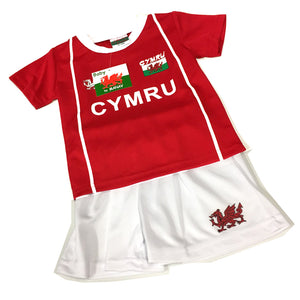 Wales Junior Rugby / Football Kit