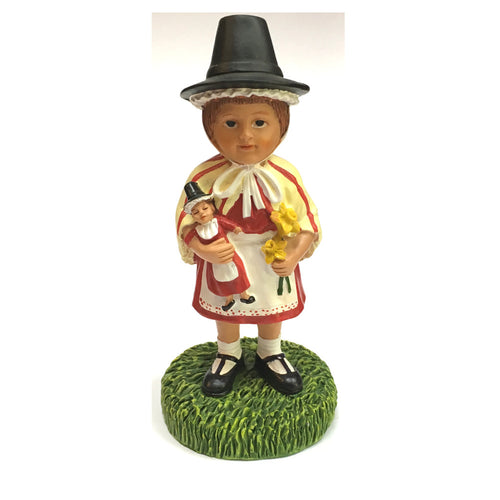 Welsh Lady Collectible Resin Figure by John Upton