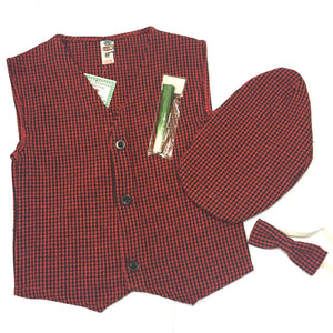 Welsh Boys Traditional Costume Set