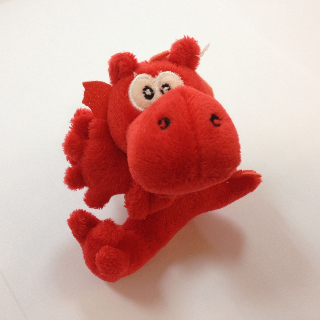 Wales Dragon Clip On Mini Soft Toy [wp137]