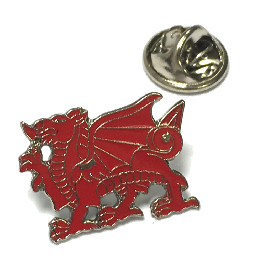 Welsh Dragon Metal Lapel Pin Badge [srt]