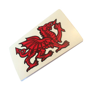 Wales Dragon Sticker For Inside Glass [wb16]