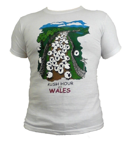 Rush Hour in Wales Unisex T-Shirt [G805]