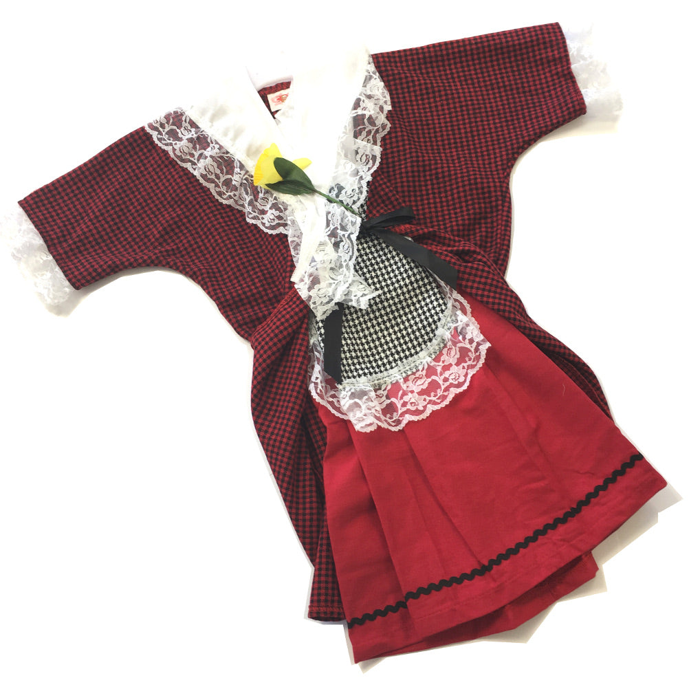 Pendragon Premium 5pc Traditional Welsh Lady Costume Set [girls]