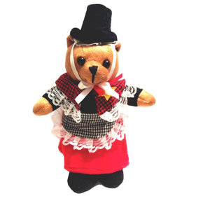 Welsh Lady Costume Bear Soft Toy [wp54]