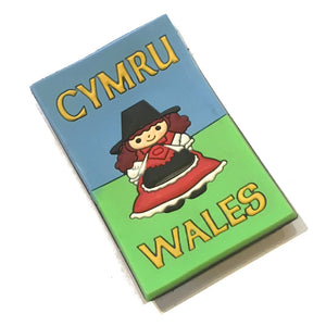 Welsh Lady Flexi P.U. Fridge Magnet