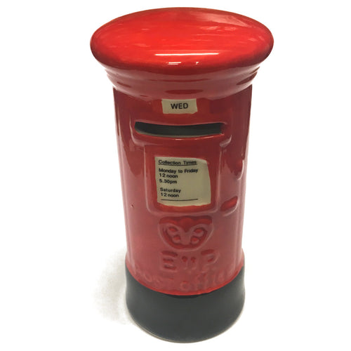 6x15cm Ceramic Post Box Money Box [gt1210]