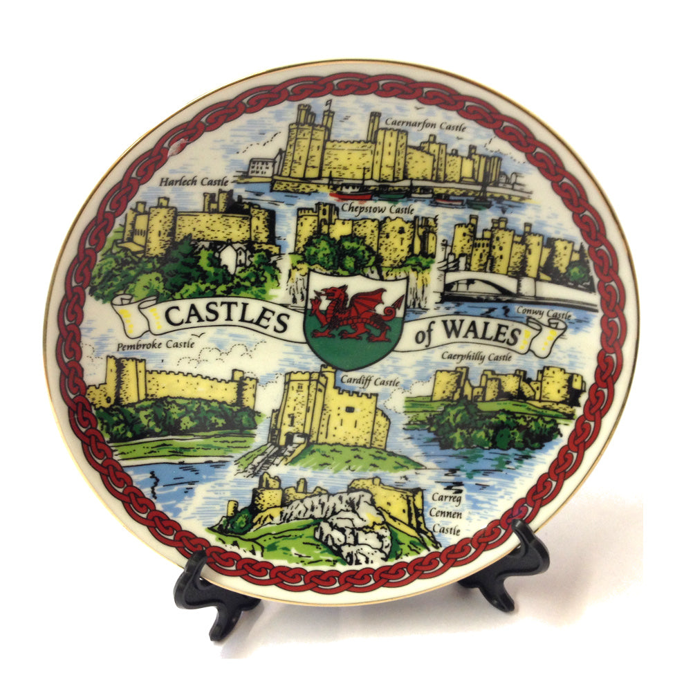 Castles of Wales 7in Collector Plate [wg99]