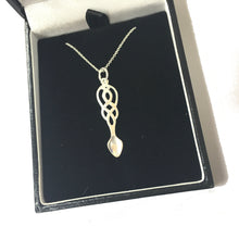 Celtic Collection Sterling Silver Lovespoon Pendant [DC3]
