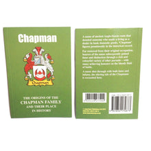 Chapman Family Surname Origins and History Pocketbook