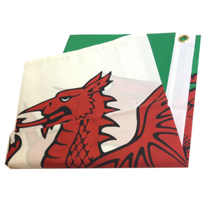 Polyester Wales Flag
