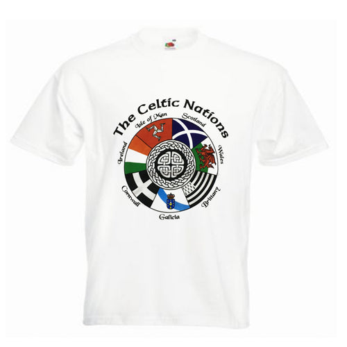 The Celtic Nations Unisex T-Shirt [G878]