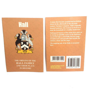 Hall Family Surname Origins and History Pocketbook