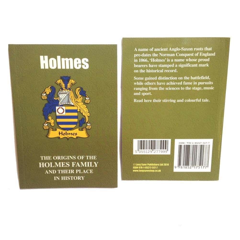 Holmes Family Surname Origins and History Pocketbook