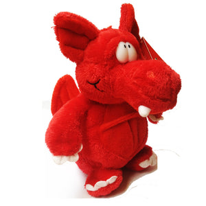 Keel 16cm Standing Welsh Dragon Soft Toy [wp153]