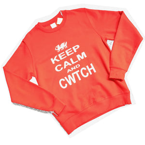 keep calm cwtch sweatshirt
