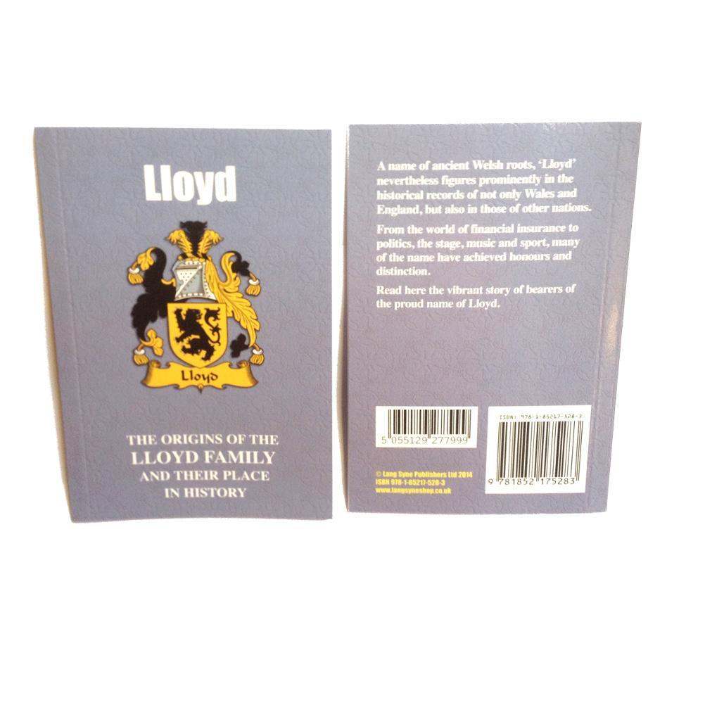 Lloyd Family Surname Origins and History Pocketbook