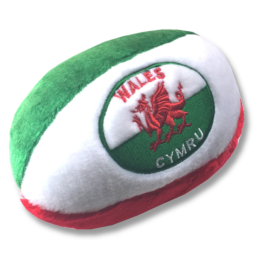 Wales Welsh Embroidered Rugby Soft Ball