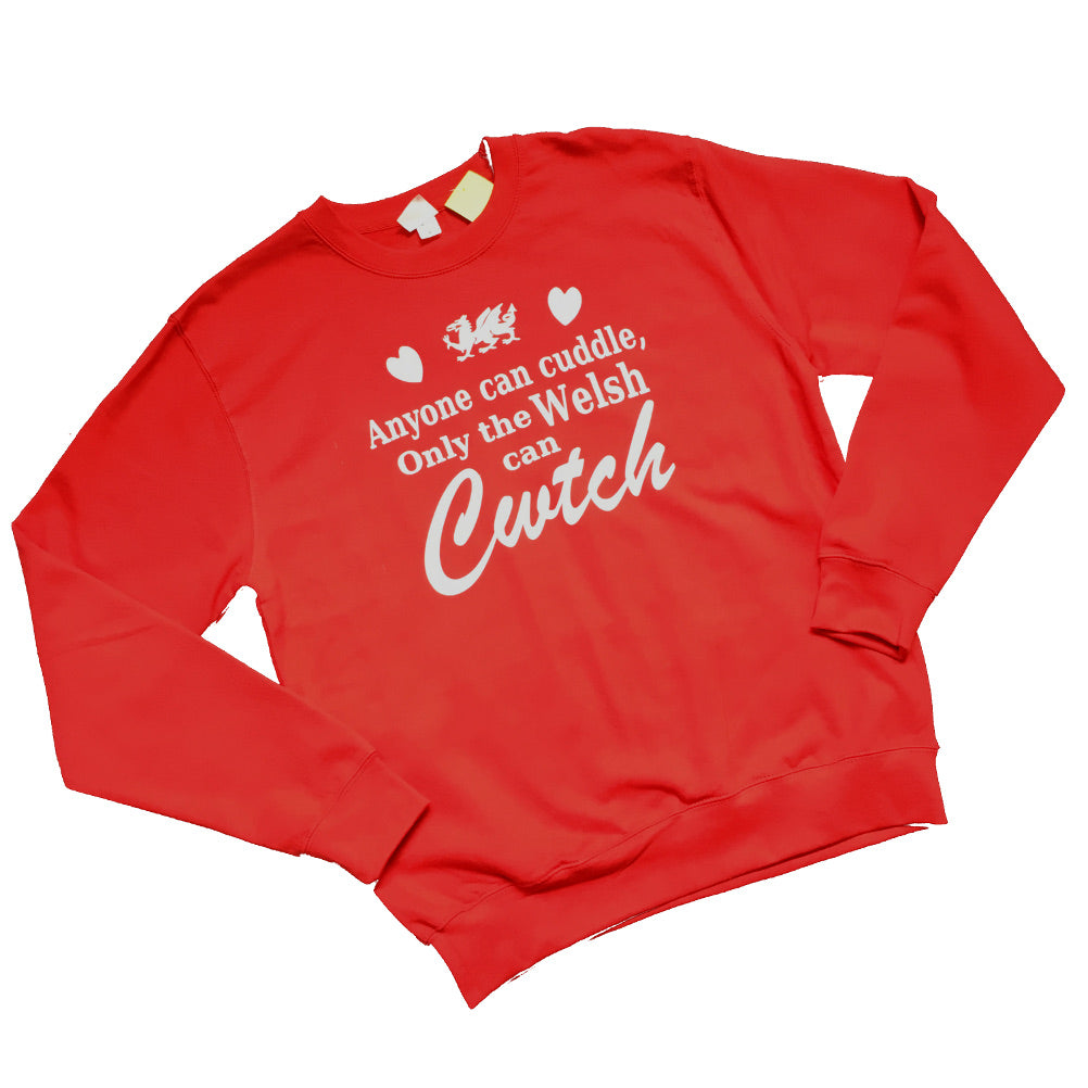 only welsh cwtch sweatshirt