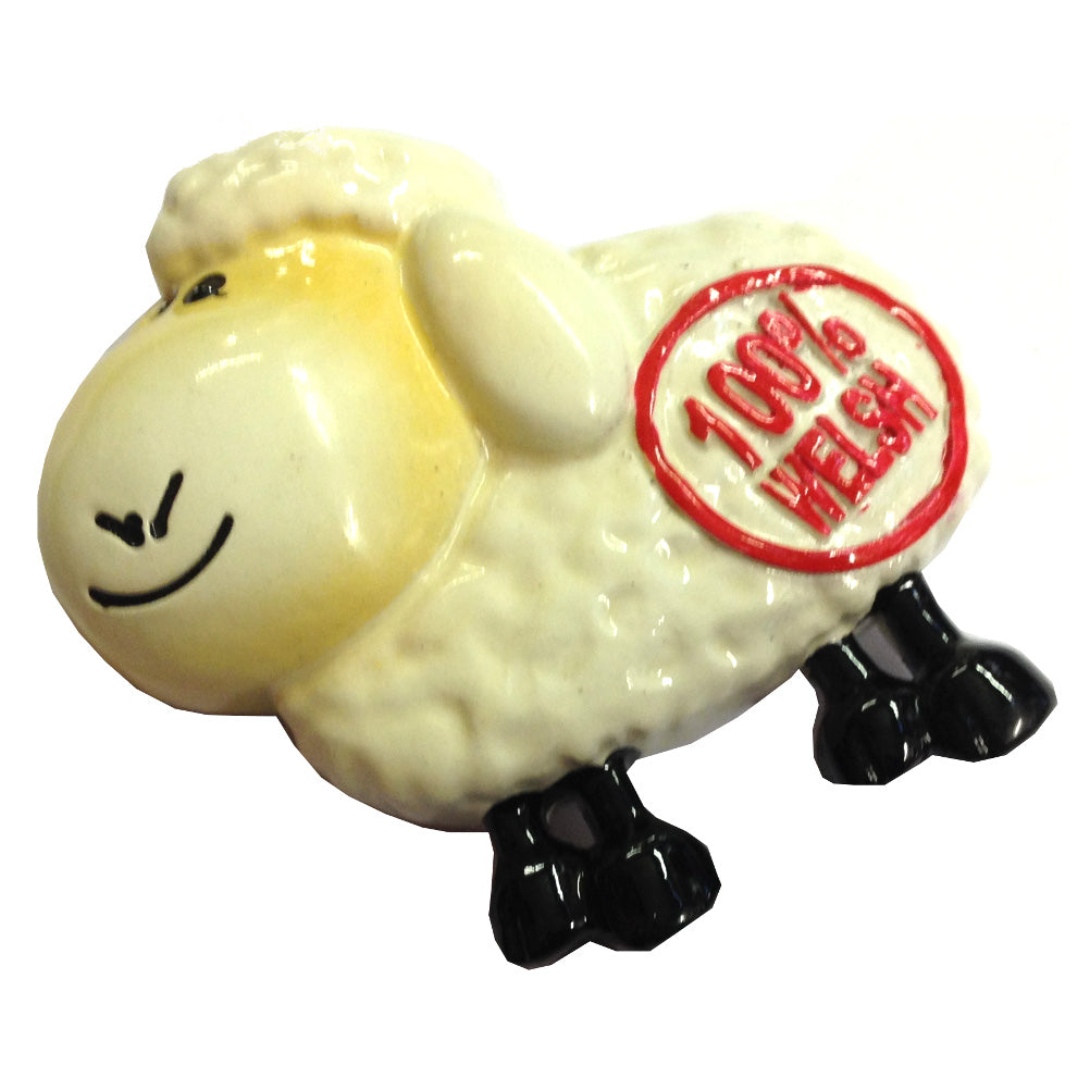 100 Percent Welsh Sheep Fridge Magnet