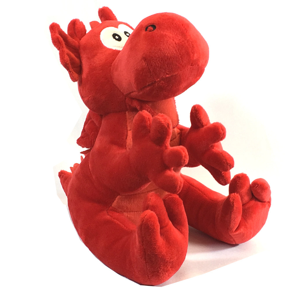 Wales 30cm Cuddly 2-Tone Red Dragon [wp134]