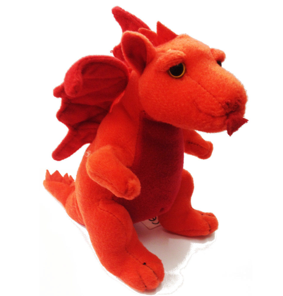 Wales Beanie Dragon 9in Soft Toy [wp105]