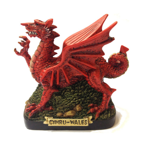 Wales Dragon on Turf Moneybox [wg30]
