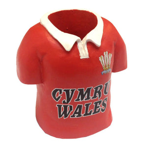 Wales Rugby Jersey Pencil Pot Holder [we119]
