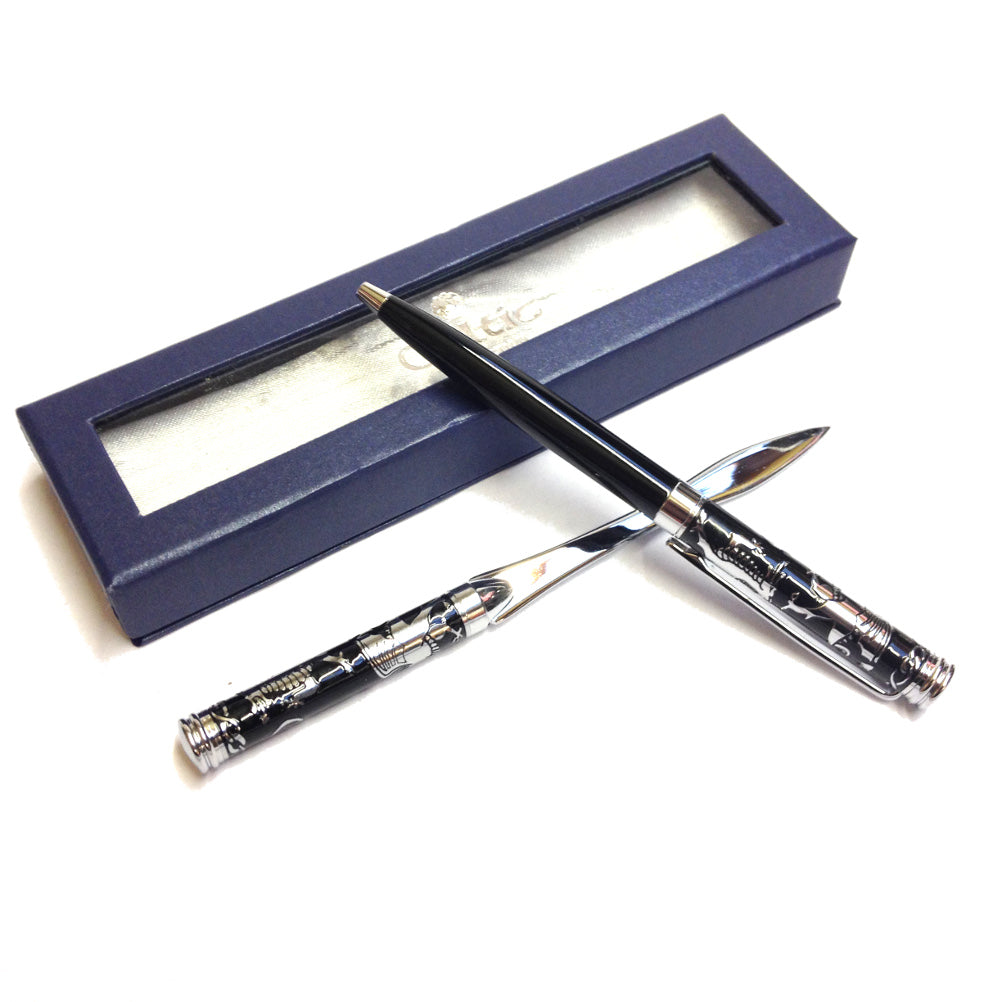 Celtic Collection Welsh Dragon Pen & Letter Opener Set