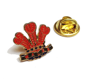 Wales Feathers Pin Badge [SRT]