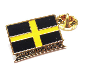 St Davids Flag Wales Lapel Pin Badge [wb81]
