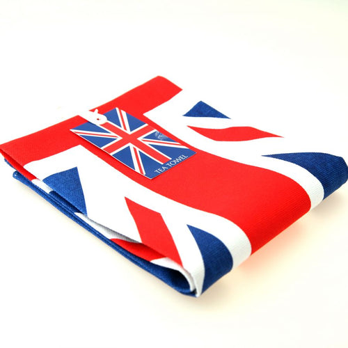 British Union Jack Cotton Tea Towel [tx81]