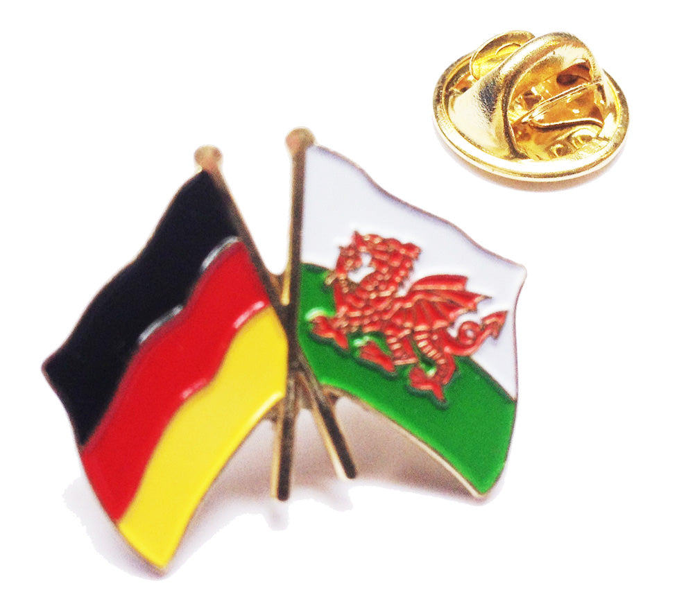 Wales / Germany Friendship Pin Badge [wb115]