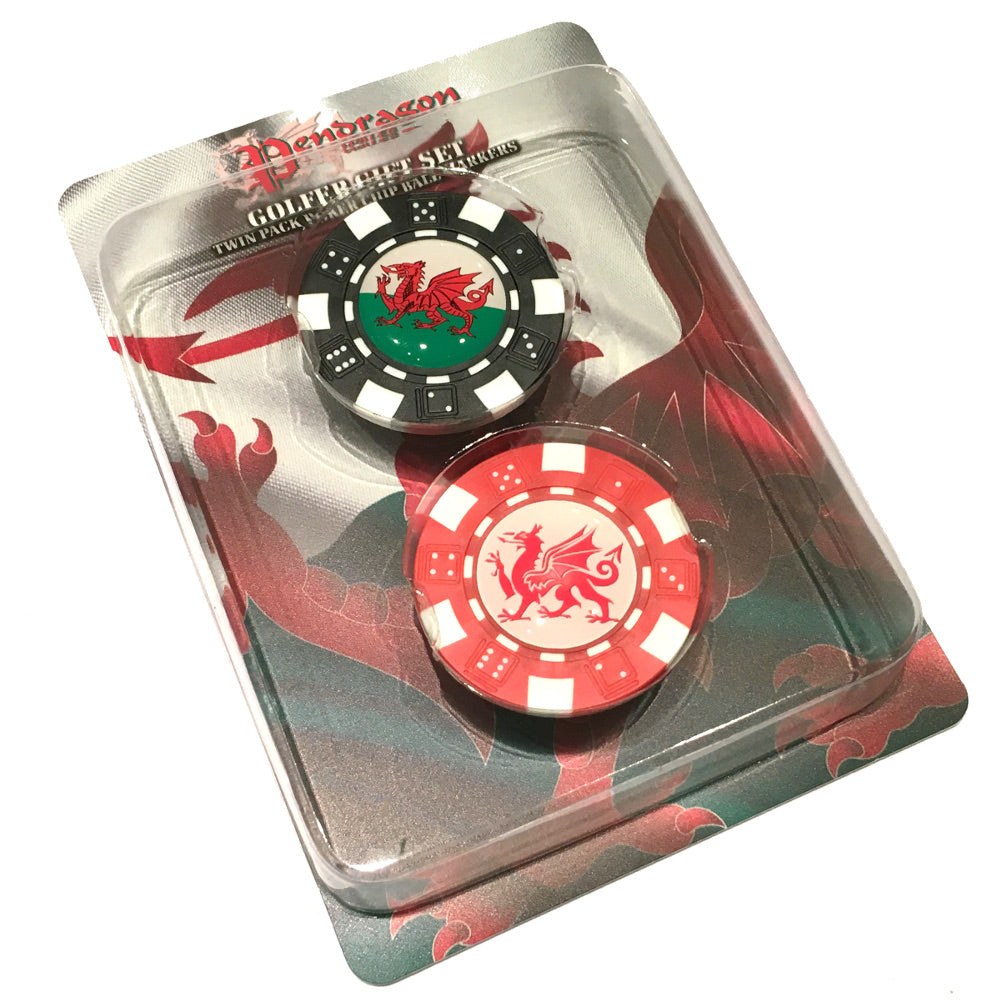 Asbri Golf Poker Chip Ball Marker 2pc Pack [wr75]