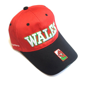 Wales Block Text Baseball Cap [mk]
