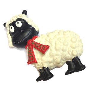 Wales Sheep Cartoon Fridge Magnet [wm234]