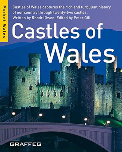 Castles of Wales Pocket Wales Paperback Book