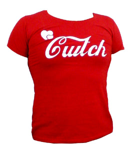 Wales Curly Cwtch Lady-Fit Red T-Shirt