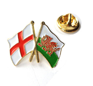 Wales / England St George Metal Pin Badge [wb72]