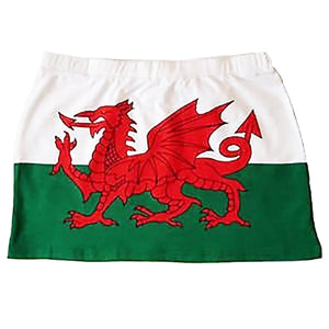 Welsh Flag Beach Skirt