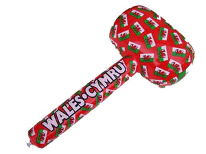 Wales Flags Inflatable Mallet
